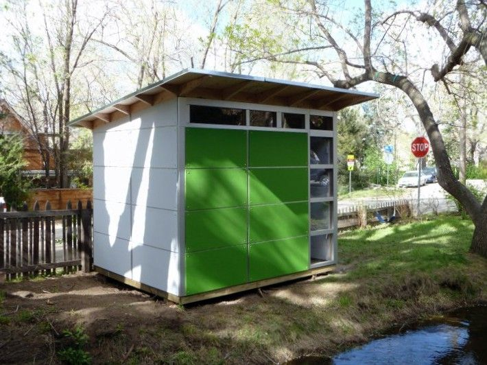 Awesome Prefab Sheds Design Ideas ~ http://lovelybuilding.com/design-of-the-prefab-sheds-for-yard/