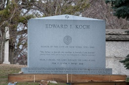 "RIP Mayor Koch, I will miss you.     ""The grave marker is inscribed with words spoken by Wall Street Journal reporter Daniel Pearl before he was killed by militants in Pakistan: ""My father is Jewish, my mother is Jewish, I am Jewish.""    The former three-term mayor of New York, who died Friday, explained the selection in a 2012 interview with the Journal. ""Well, that's me, too,"" he said of Mr. Pearl's last words."