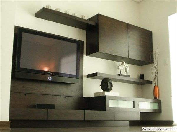 multimuebles modernos para sala pequeñas - Buscar con Google