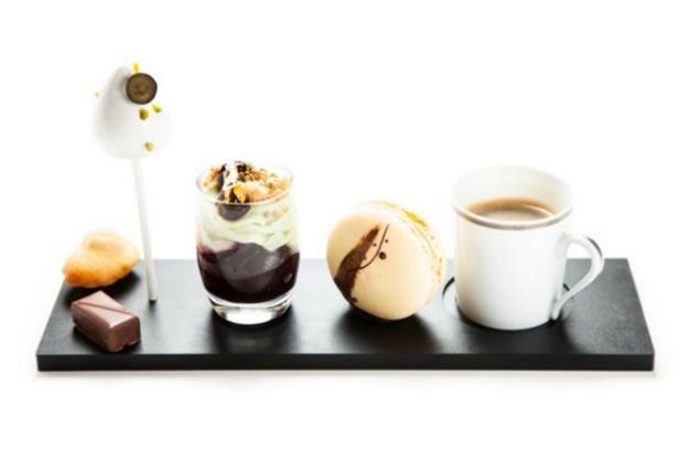 George V style coffee