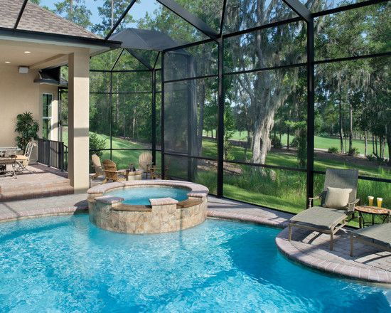 17 best images about florida home designs on pinterest for Pool designs florida