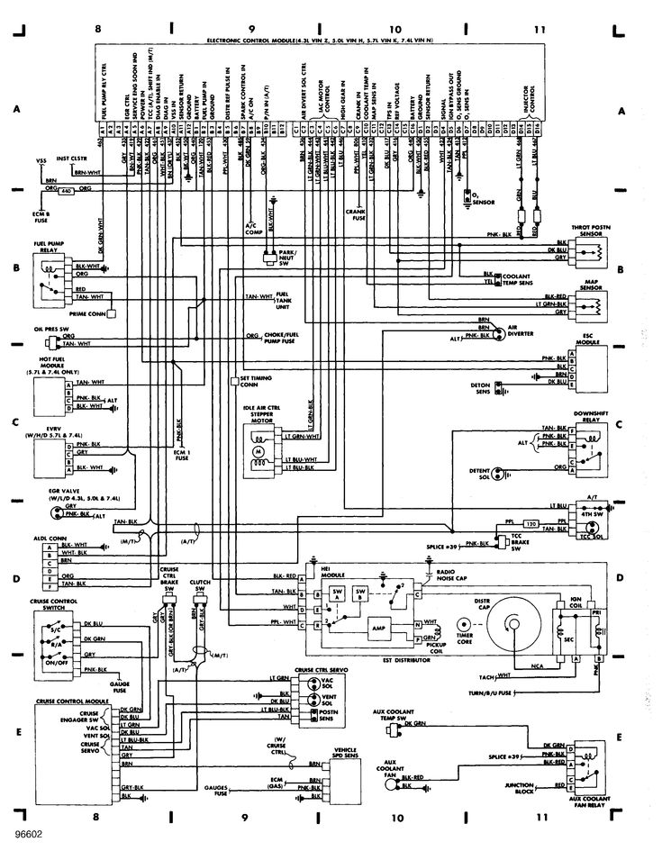 1986 chevrolet c10 5.7 v8 engine wiring diagram | 1988 ... 1986 chevy alternator wiring diagram #8