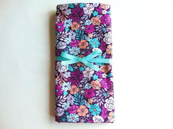 Floral Swaddle Blanket Purple Baby Blanket Baby Blanket