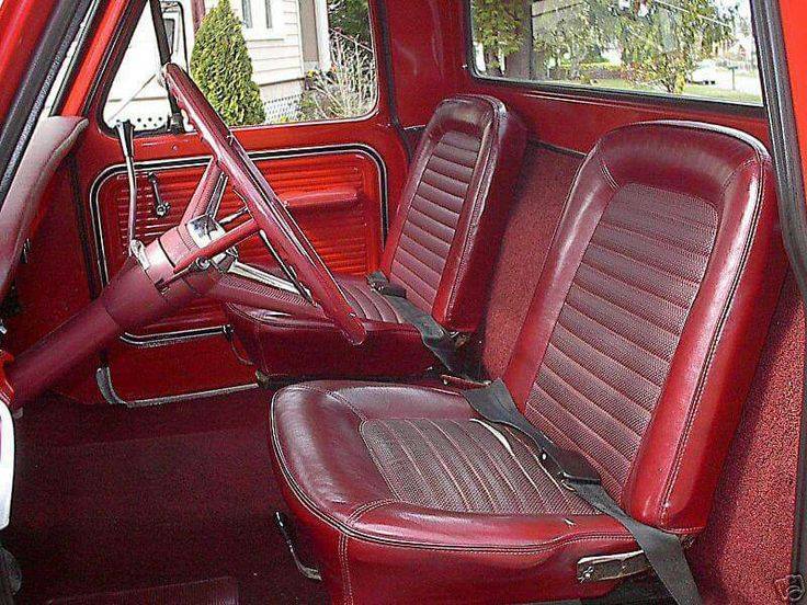 1967 Ford F100 >> Ford pickup bucket seats 67-72 | 1969 Ford | Pinterest | Bucket seats, Ford and Cars