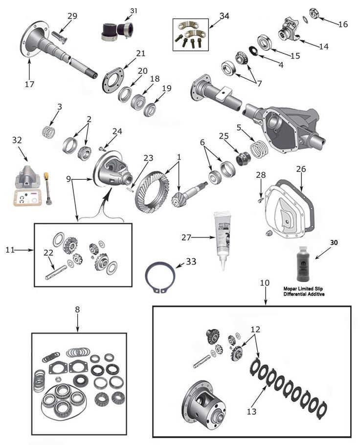 21 best 93-98 Grand Cherokee ZJ Parts Diagrams images on