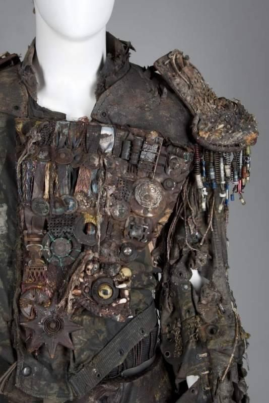 """Smokers Jacket from Water World. Good """"War Chief"""" Concept."""