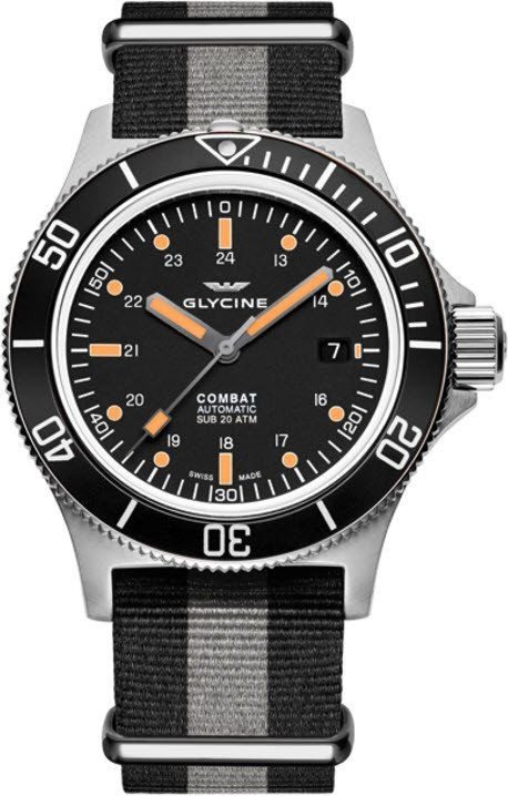 Glycine Watch Combat Sub #basel-16 #bezel-unidirectional #bracelet-strap-synthetic #brand-glycine #case-depth-10-6mm #case-material-steel #case-width-42mm #date-yes #delivery-timescale-call-us #description-done #dial-colour-black #gender-mens #luxury #movement-automatic #new-product-yes #official-stockist-for-glycine-watches #packaging-glycine-watch-packaging #style-divers #subcat-combat #supplier-model-no-3908-199-n-tb90 #warranty-glycine-official-2-year-guarantee #water-resistant-200m