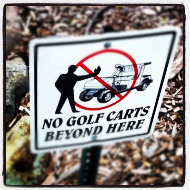 The 10 unwritten #golf #etiquette rules every player should follow.