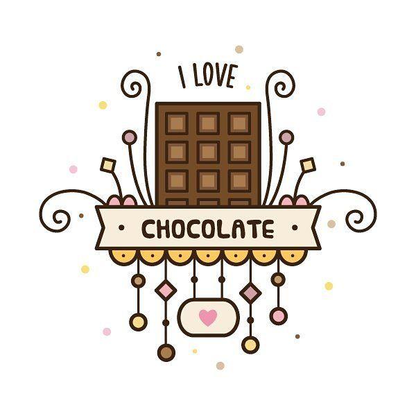 #drawing #draweveryday #illustration #illustrator #vector #art #digitalart #instaart #chocolate #cute #рисунок #творчество #шоколад