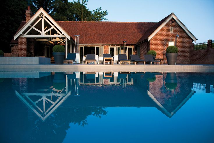 Maison Talbooth, Essex (England). Enjoy a #relaxing #weekend in the #gorgeous #victorian #house. Relax by the pool during the day and #enjoy #great #food in the #evening. Check out: http://bit.ly/2hEVNPm