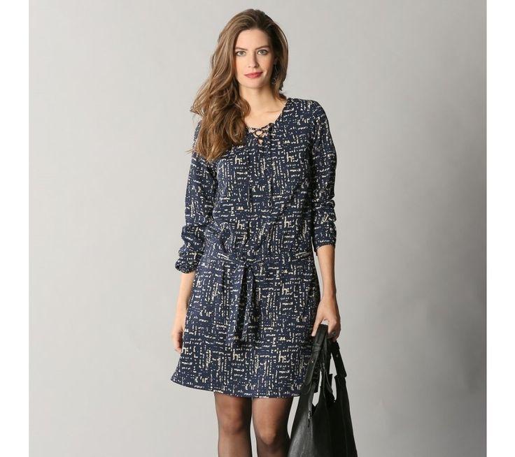 Šaty so šnurovaním a potlačou | vypredaj-zlavy.sk #vypredajzlavy #vypredajzlavysk #vypredajzlavy_sk #uplet #saty