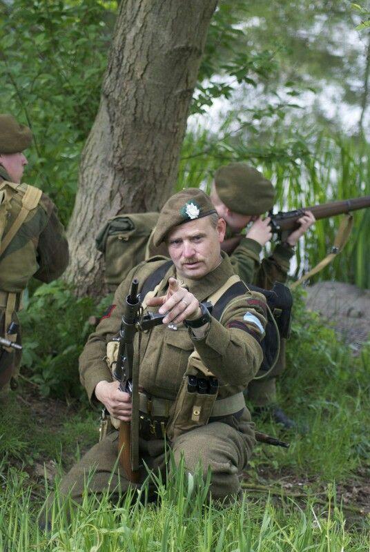 Queens own rifles Re-eanactment