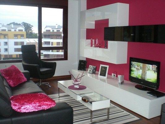 decorar salon pequeo11 533x400 ideas para decorar una casa pequea