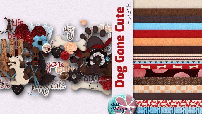 Dog Gone Cute by Dae Designs