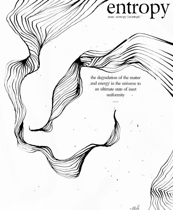Entropy. M. Valeria. India ink + bamboo pen ++ photo editor