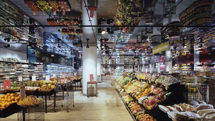 Mpreis Grocery Store Austria Store Design Market