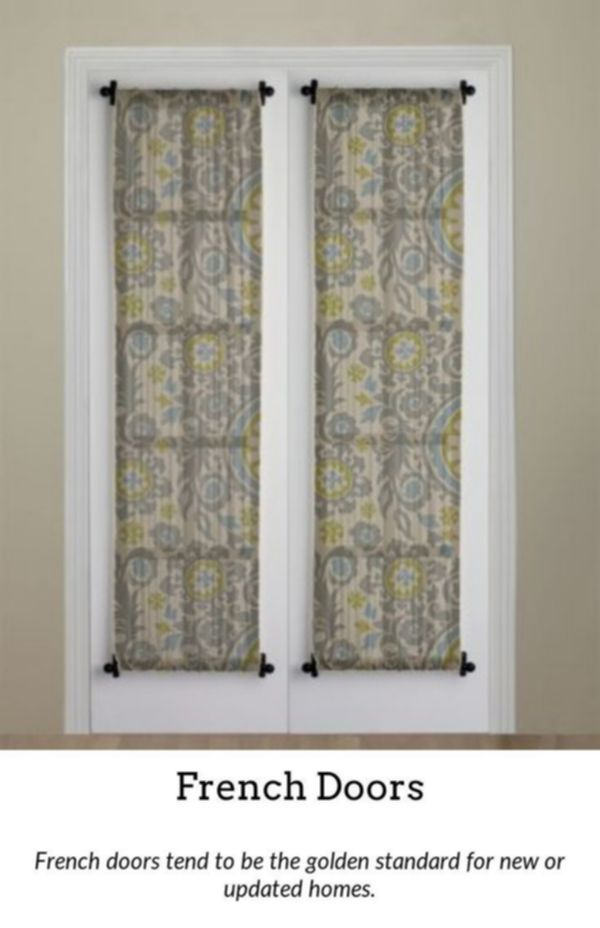 French Doors Add A Touch Of Beauty To Your Home With The Help Of