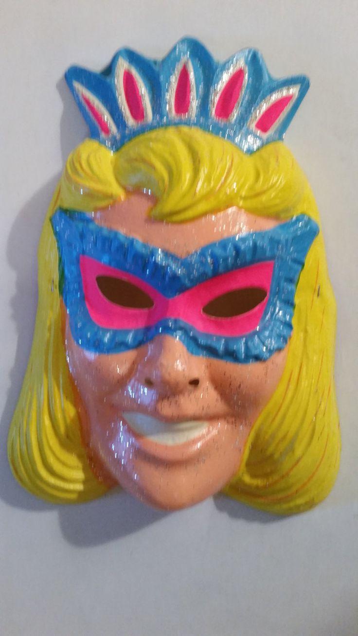 8 best Vintage Halloween Masks images on Pinterest | Halloween ...