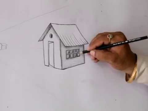 How to Draw a House for Kids   Easy Things to Draw  Sai Rajesh Live Pain...