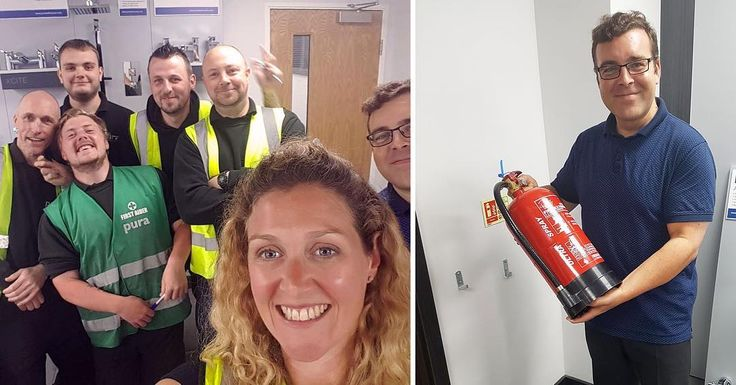Big shout-out to Rebecca Smith ‏from Training Matters Sussex - Driver CPC & First Aid Training for her time and patience this morning during the Fire Safety Training! We now officially have a Fire Warden and Fire Marshalls 👍🏻 🔥🚒💦 . . . #becci4life #trainingday #PBGstyle #training #teamwork #instagram #instagood #bestoftheday #ilovemyjob #workhardplayhard #love #work #VIP #fire #team #inspiration #success #teambuilding #nofilter #bathroom #business #cool #result #exam #test #hardatwork…