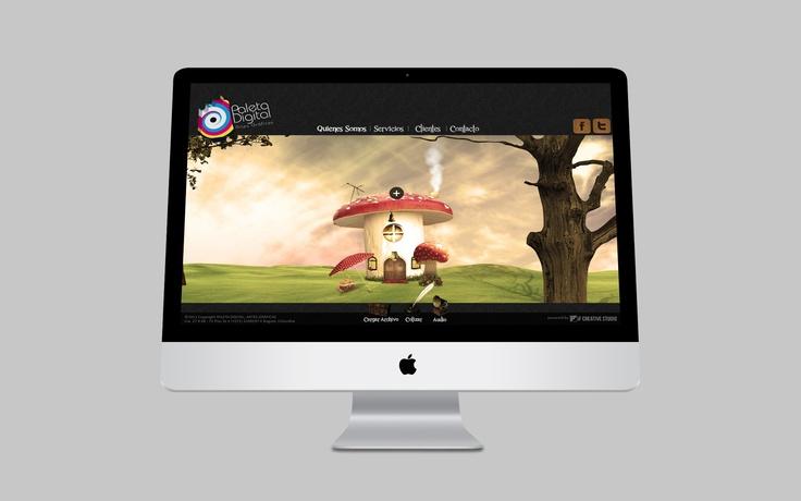 Website Paleta Digital