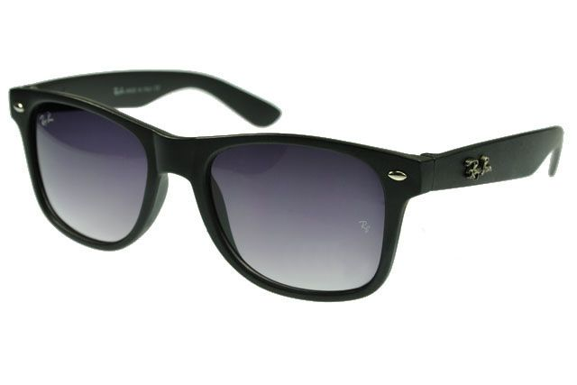 Ray Ban Wayfarer RB2140 Sunglasses Black Frame Gray Lens