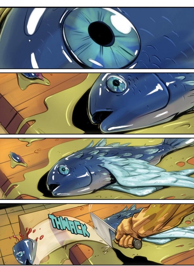 Virga #1 (2013). Writer: Karl Schroeder; Script: Jeff Moss; Illustrator: Guy Allen; Colors: Michael Birkhofer.