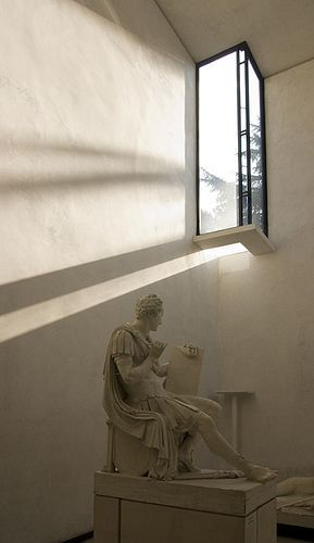 Carlo Scarpa (1906-1978) | Gipsoteca Canoviana | Possagno, Treviso, Italia | 1955 (progetto) 1957 (realizzazione) #FredericClad