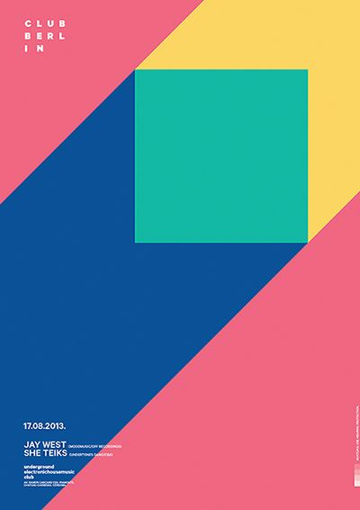Posters by Horacio Lorente, via Behance