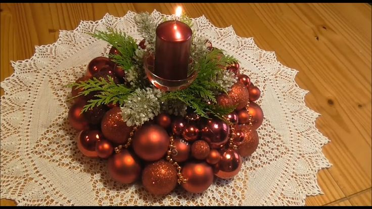 Jana Melas Pullmannová: Venček z vianočných gúľ