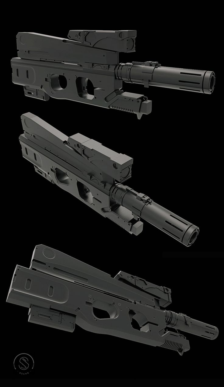 ArtStation - Weapon WIP, Sergio Acevedo Ruiz