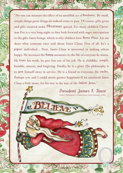 Christmas Santa Claus Pictures With Quotes
