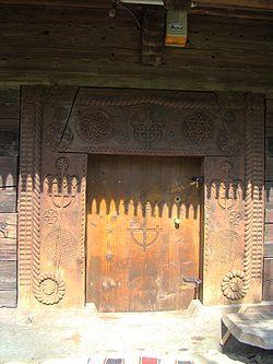 Biserica de lemn din Budești Josani - Wikipedia
