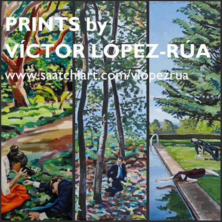 Prints by Víctor López-Rúa.