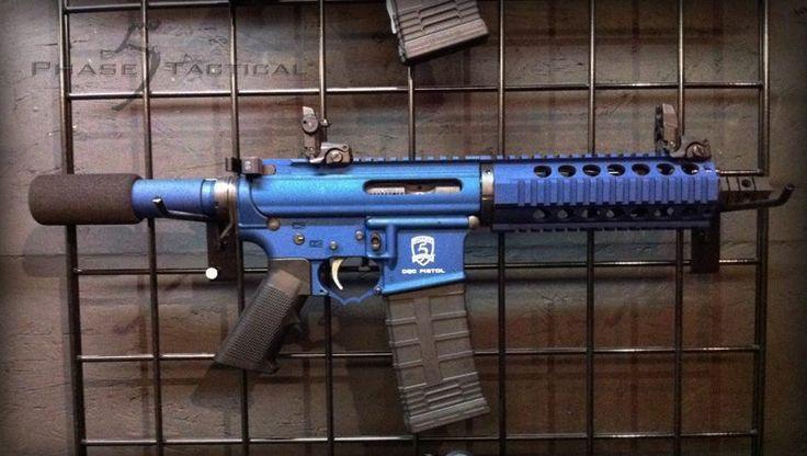Phase 5 tactical CQC AR pistol