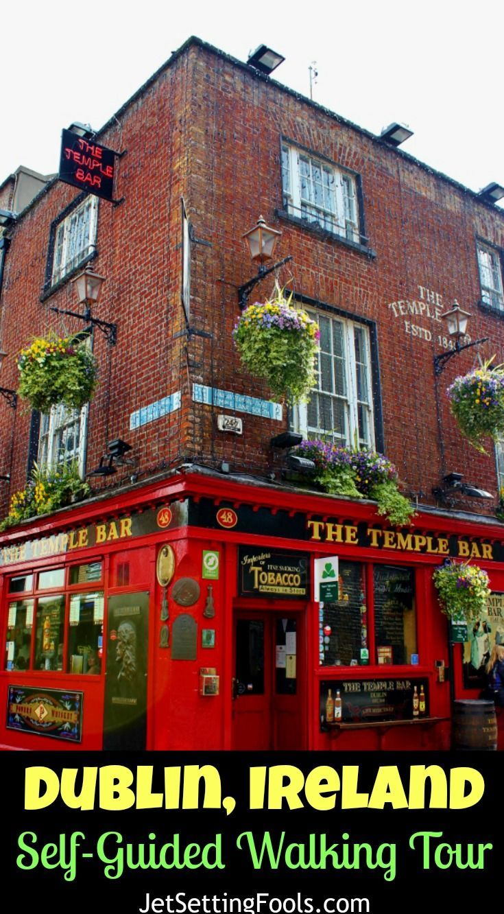We could have easily spent our three days in Dublin seeing nothing more than the inside of pubs, but there's a lot more to the city than just downing pints of Guinness goodness. Many of the historic sights are condensed within the city center, which makes for an easy Dublin, Ireland self-guided walking tour – and helped keep us out of the bars, if only for a few hours.