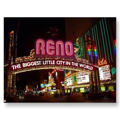Been to Reno a few times..about 2 hours from Sacramento...love their Sunday brunch buffet at the Peppermill!