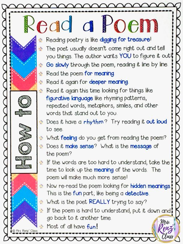 10 tips to effectively teach poetry in upper elementary. Mrs Renz Class