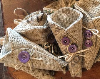 hessian flowers | hessian pew ends dried flower holder £ 8 00 gbp summerlilygifts