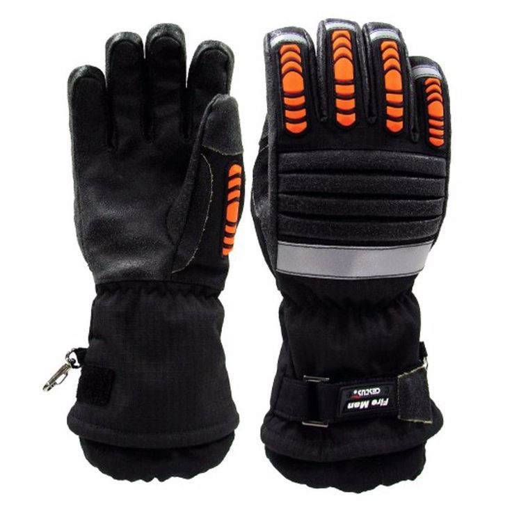 Fire Fighting Impact Protection 3Lay Heat resistant Strong Work Gloves XL-S size #Cestus