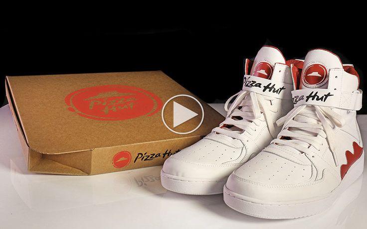 Pizza Huts nye sko har en pizza-funktion