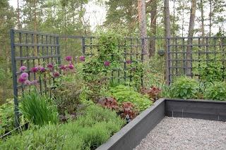 M/S DESIGN Trädgård och Keramik: Återbesök i en trädgård jag designat...