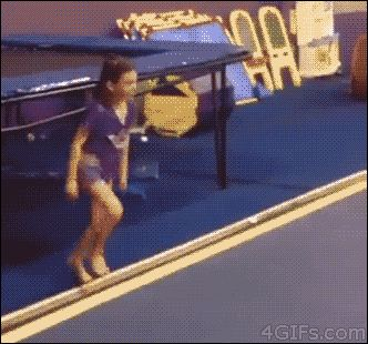 This kid who is a better gymnast than you will ever be.   24 People Who Walked The Line And Came Out Smiling