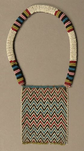 Antique African Beaded Necklace