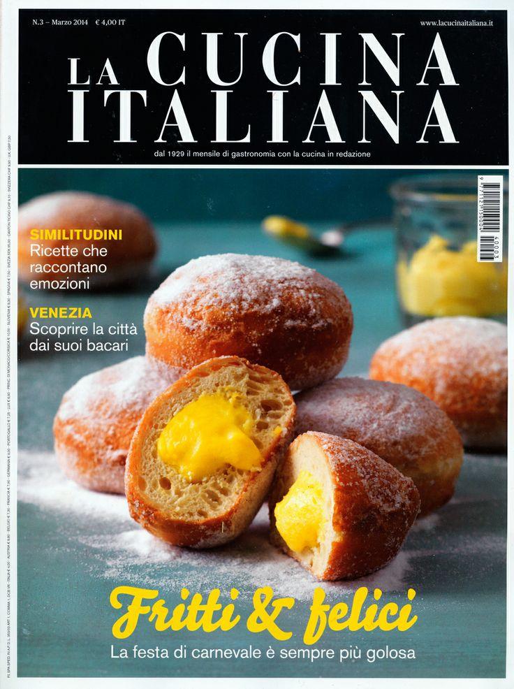 """Sul magazine """"La Cucina Italiana"""" del mese di marzo, Marina Bellati racconta una bella realtà campana, sul progetto della pasta Senatore Cappelli, fatta da contadini che sostengo."""