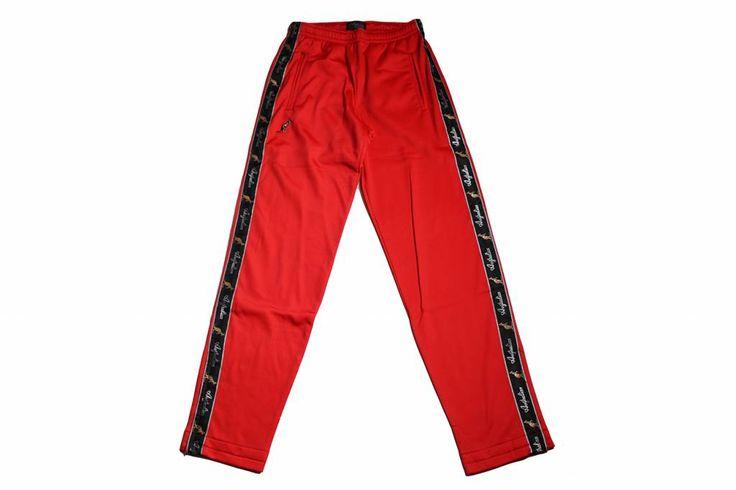 Australian Pantalon Triacetat Met Bies Red (Rood) 85057.720 Herenbroeken