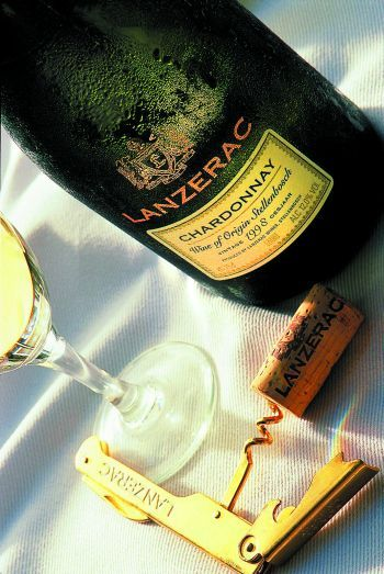 Lanzerac wines are made on one of Stellenbosch's most prestigious and historic wine estates