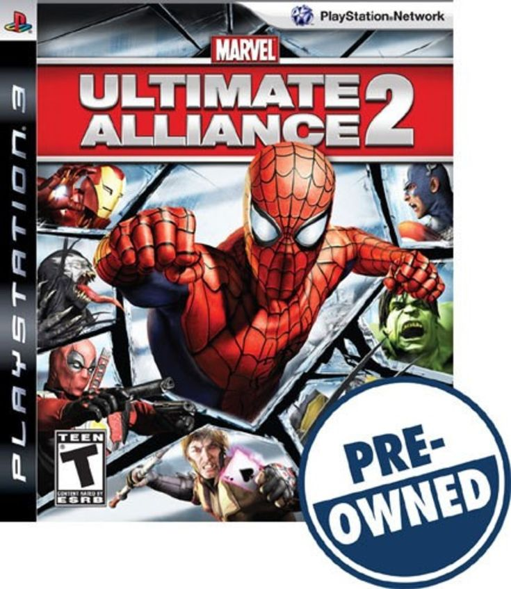 Marvel: Ultimate Alliance 2 — PRE-Owned - PlayStation 3