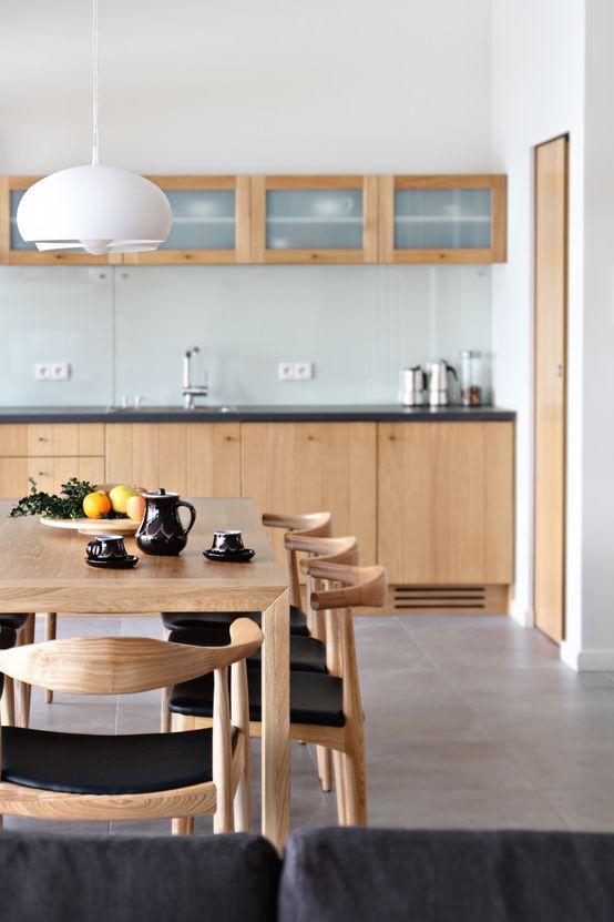 Kuchnia łączona z jadalnią  7 pomysłów na piękną i funkcjonalną przestrzeń d   -> Drewniana Kuchnia Gourmet World