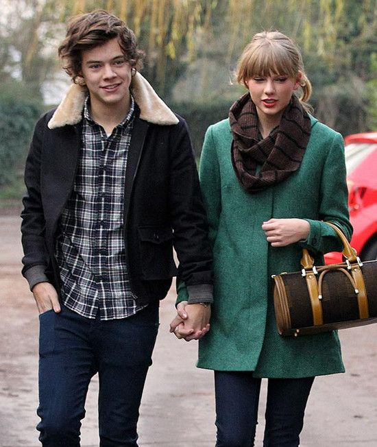 One Direction's Harry Styles with ex-girlfriend, Taylor Swift